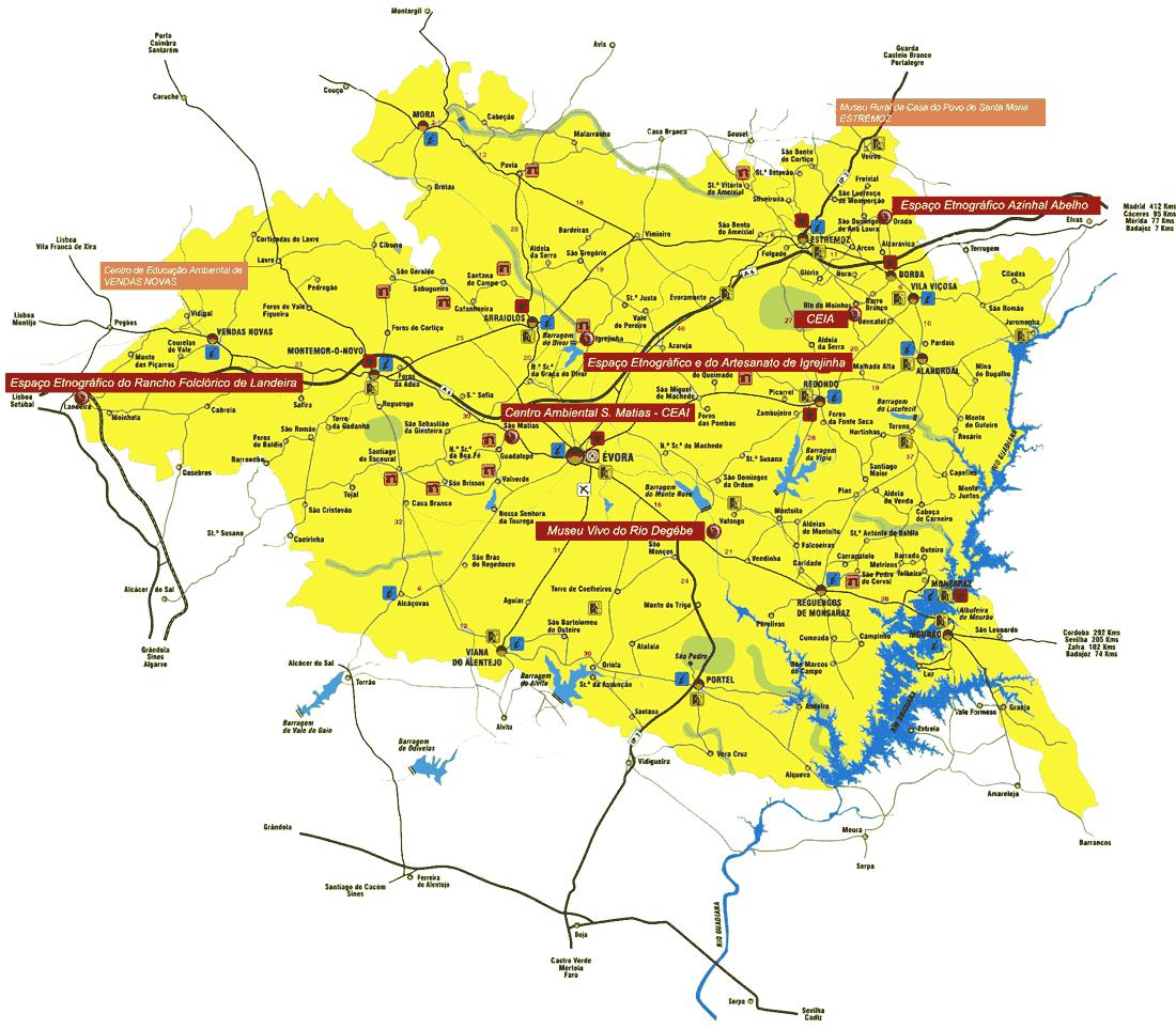 mapa do alentejo central Monte   ACE ~ Inventário de Fauna e Flora mapa do alentejo central